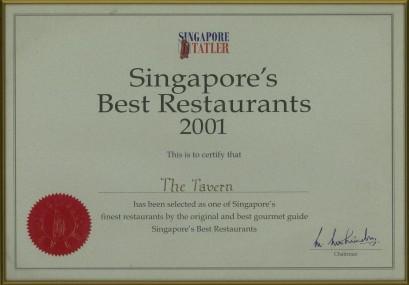 Certificate 11 2001