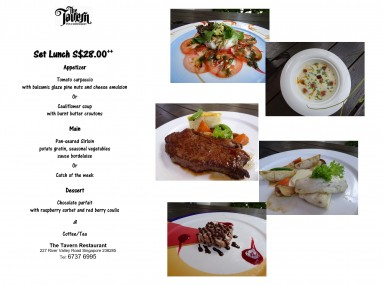 Set Lunch $28++
