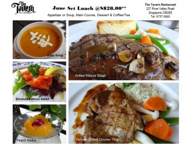 Set Lunch June